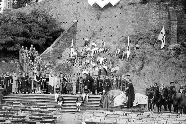 Genovevaspiele 1935 Burgfestspiele Mayen