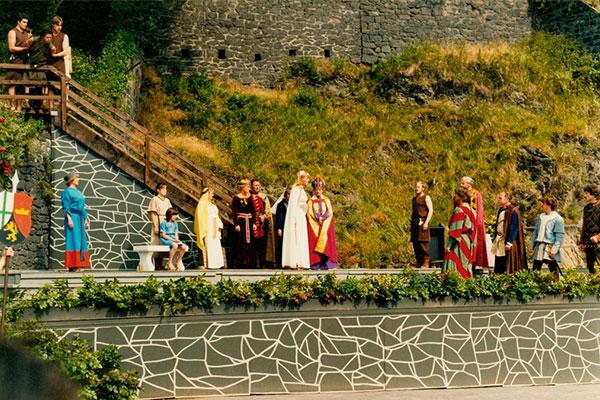 Genovevaspiele Burgfestspiele Mayen